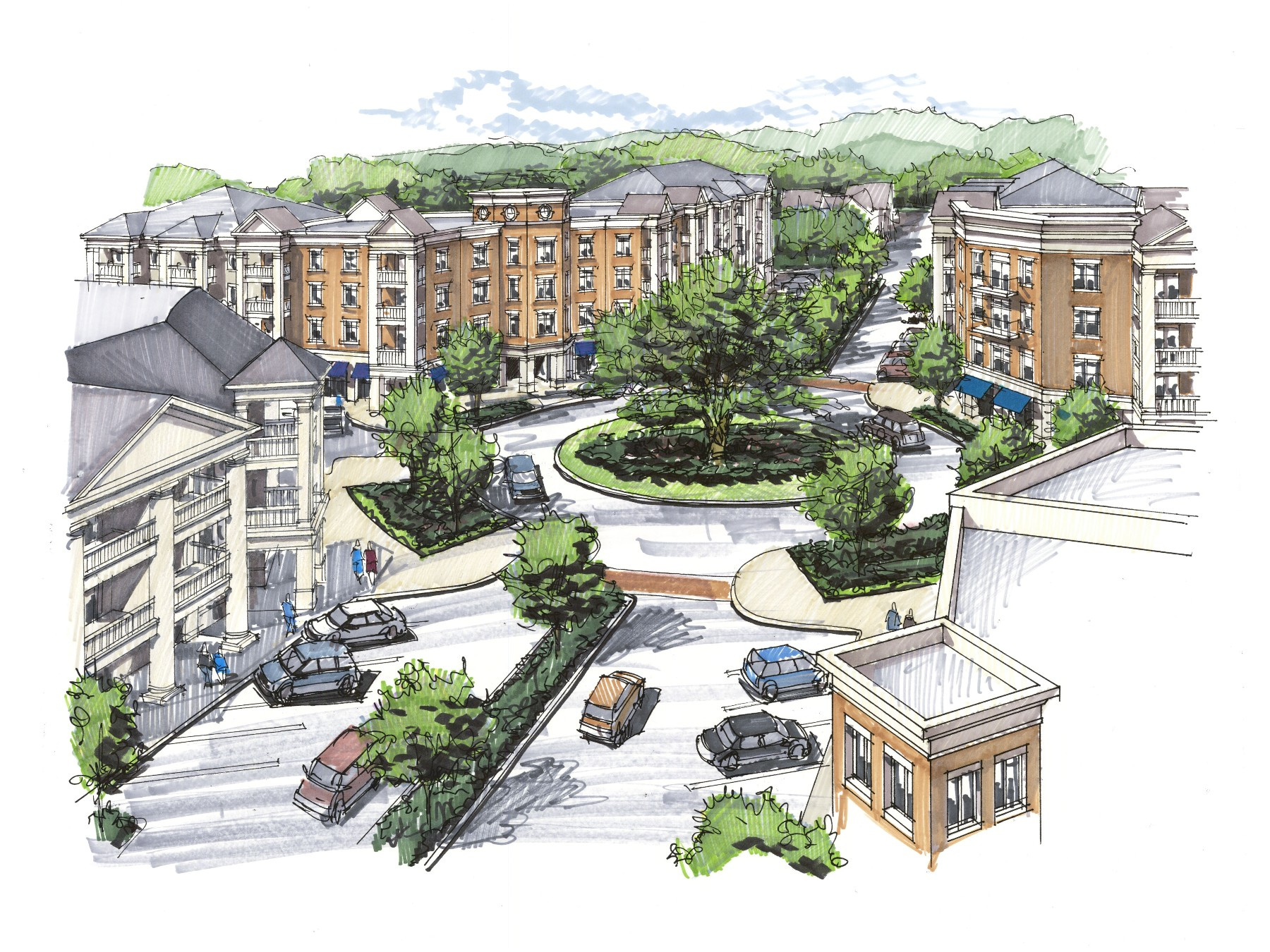 Gateway Village rendering #2 printable